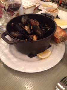 mussels at bird and bread