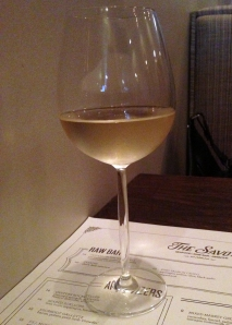 Gruner Veltliner at The Savoy in Chicago